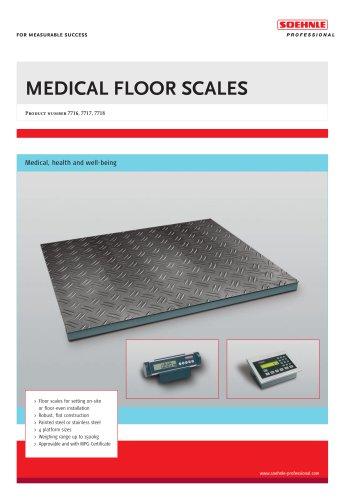 MEDICAL FLOOR SCALES