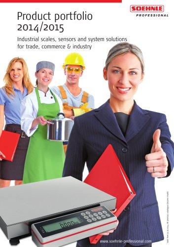Product portfolio 2014/2015