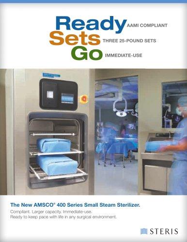 AMSCO® 400 Series Small Steam Sterilizer