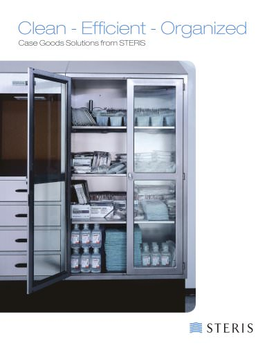 Case Goods Solutions from STERIS