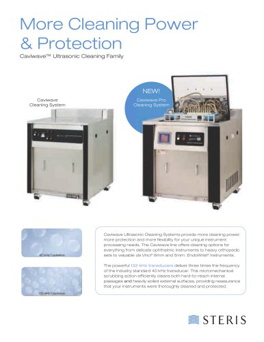Caviwave® Ultrasonic Cleaning Family
