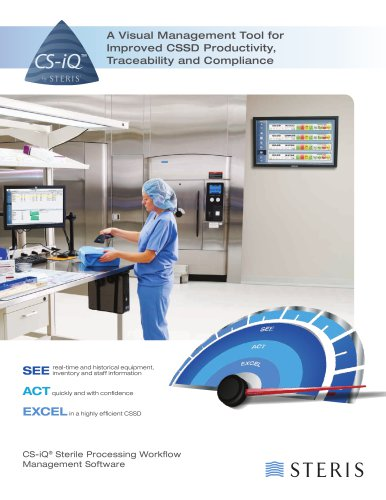 CS-IQ STERILE PROCESSING WORKFLOW MANAGEMENT SOFTWARE - 3 MODULES