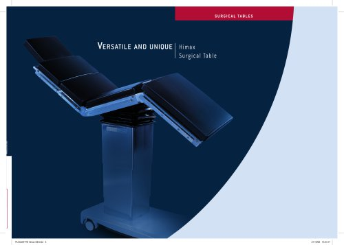 Himax Surgical Table