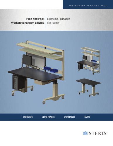 PREP AND PACK WORKSTATIONS FROM STERIS