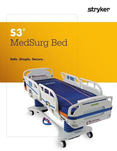 S3 MedSurg Bed