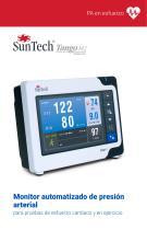 Monitor automatizado de presión arterial para pruebas de esfuerzo cardíaco y en ejercicio