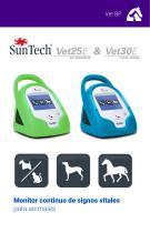 Monitor continuo de signos vitales para animales