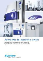 Autoclaves de laboratorio Systec