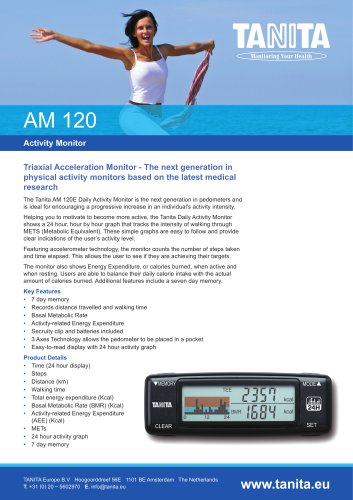 AM-120 DAILY ACTIVITY MONITOR