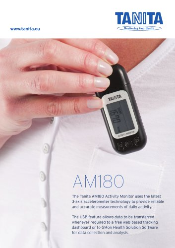 AM-180 ACTIVITY MONITOR WITH 3-AXIS ACCELEROMETER