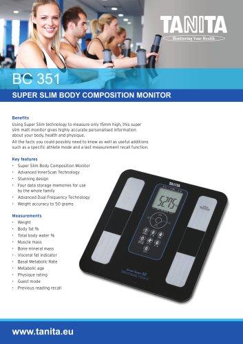 BC-351 SUPER SLIM BODY COMPOSITION MONITOR
