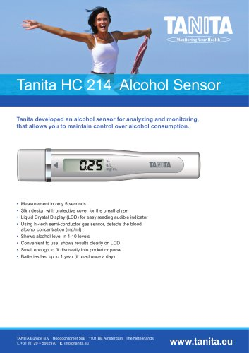 HC-214 ALCOHOL SENSOR
