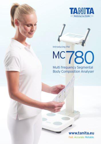 MC-780 MA MULTI FREQUENCY SEGMENTAL BODY COMPOSITION ANALYSER