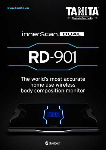 RD-901 The world?s most accurate home use wireless body composition monitor
