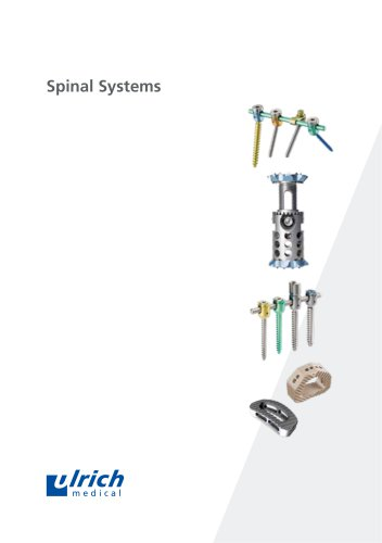 Overview Spinal Systems