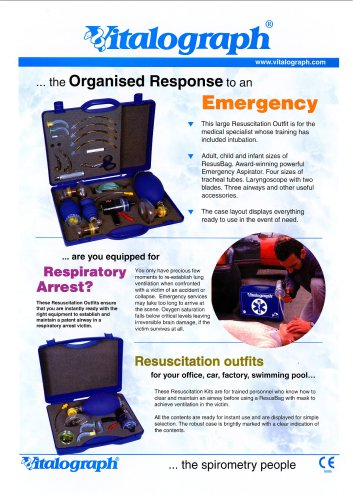 Resuscitation, Suction & Intubation Outfits