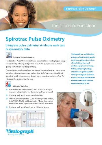 Spirotrac Pulse Oximetry Module