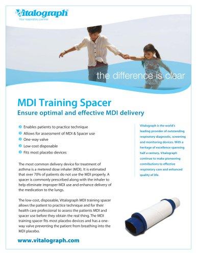 Vitalograph MDI-Training-Spacer Prospekt