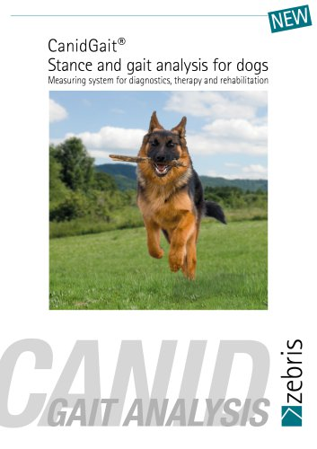 CanidGait - Stance & gait analysis for dogs