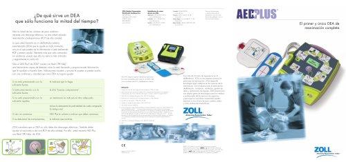 AED Plus Brochure - ZOLL Medical Corporation - Catálogo PDF