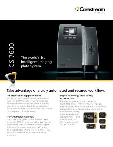 CS 7600 Sell Sheet
