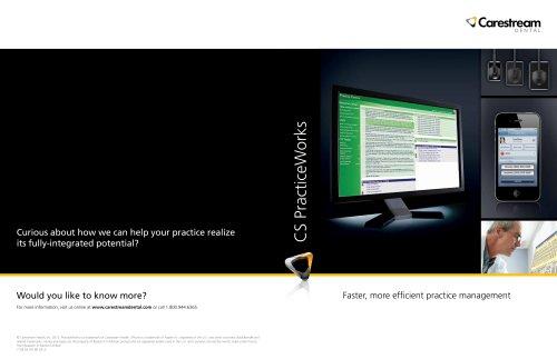CS PracticeWorks Software Brochure
