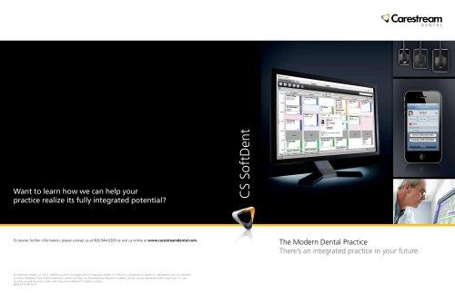 CS SoftDent Software Brochure