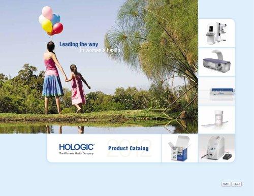 Hologic Product Catalog