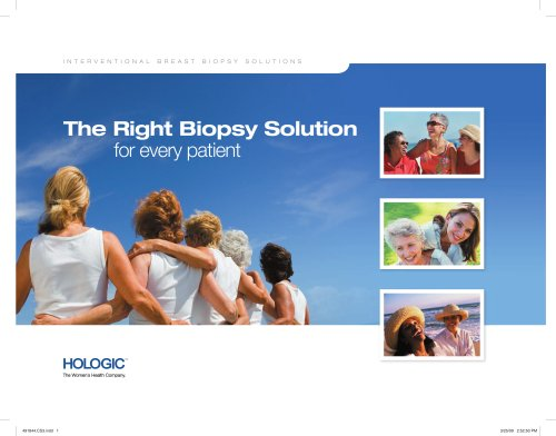 The Right Biopsy Solution