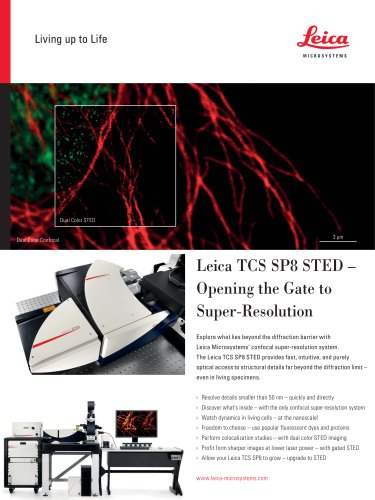Leica TCS SP8 STED-Flyer