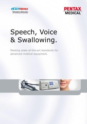 Speech, Voice & Swallowing