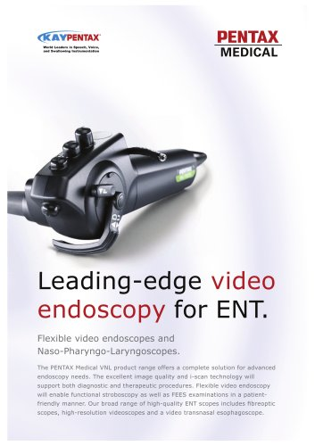 video endoscopy for ENT