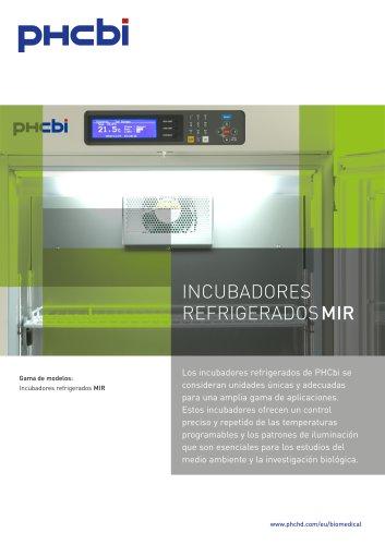 INCUBADORES REFRIGERADOS MIR