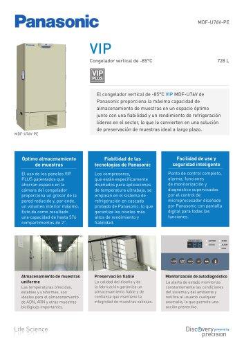 MDF-U76V VIP Congelador vertical de -85°C