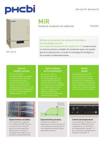 MIR Estufas de incubación con calefacción