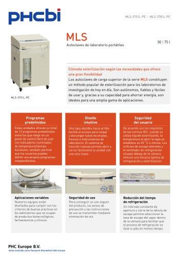 MLS-3751L Autoclaves de laboratorio portátiles