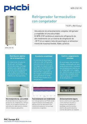 MPR-215F-PE Refrigerador farmacéutico con congelador
