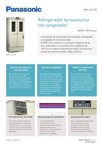 MPR-414F Refrigerador farmacéutico con congelador