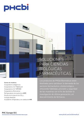 SOLUCIONES PARA CIENCIAS  BIOLÓGICAS FARMACÉUTICAS