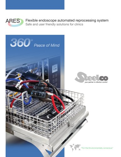 Flexible endoscope automated reprocessing system