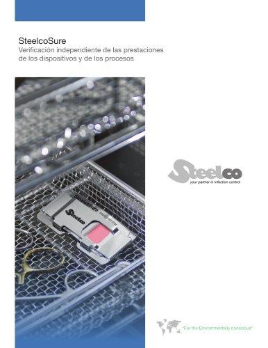 SteelcoSure Verificacion independiente de las prestaciones de los dispositivos y de los procesos