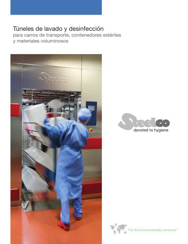 Washer disinfectors for transfer trolleys, sterile containers...