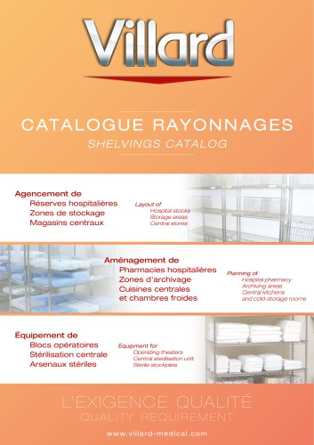 Shelvings Catalog