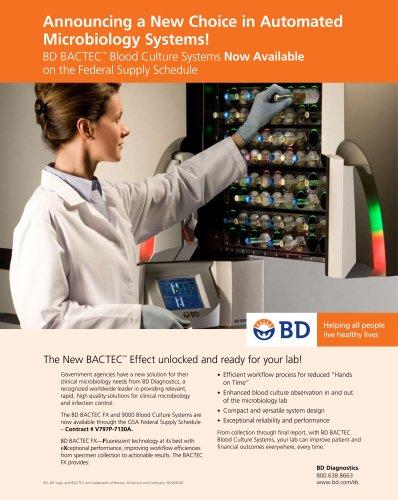 BD BACTEC? Blood Culture Systems