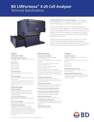 BD LSRFortessa™ X-20 Cell Analyzer