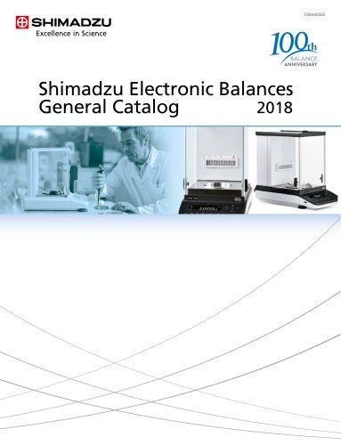 Shimadzu Electronic Balances General Catalog