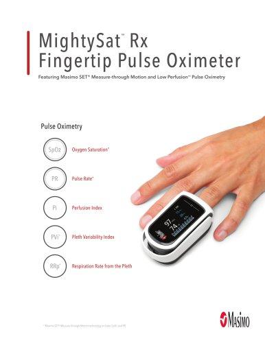 M ightySat ™  Rx Fingertip Pulse Oximeter