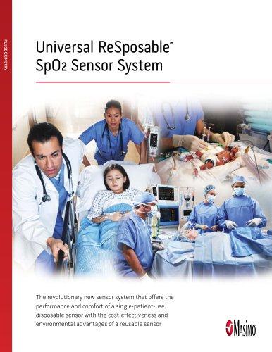 Universal ReSposable SpO2 Sensor System