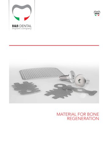MATERIAL FOR BONE REGENERATION