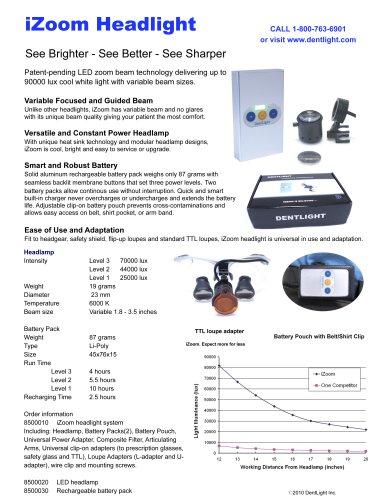 iZoom Headlight Brochure